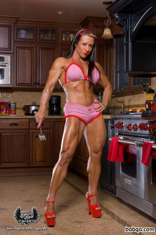 cute babe with muscle body and muscle legs image from tumblr
