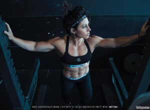 hottest chick with fitness body and toned arms image from instagram