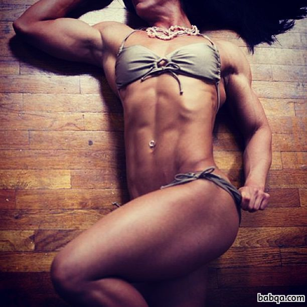 hottest girl with fitness body and toned legs photo from facebook