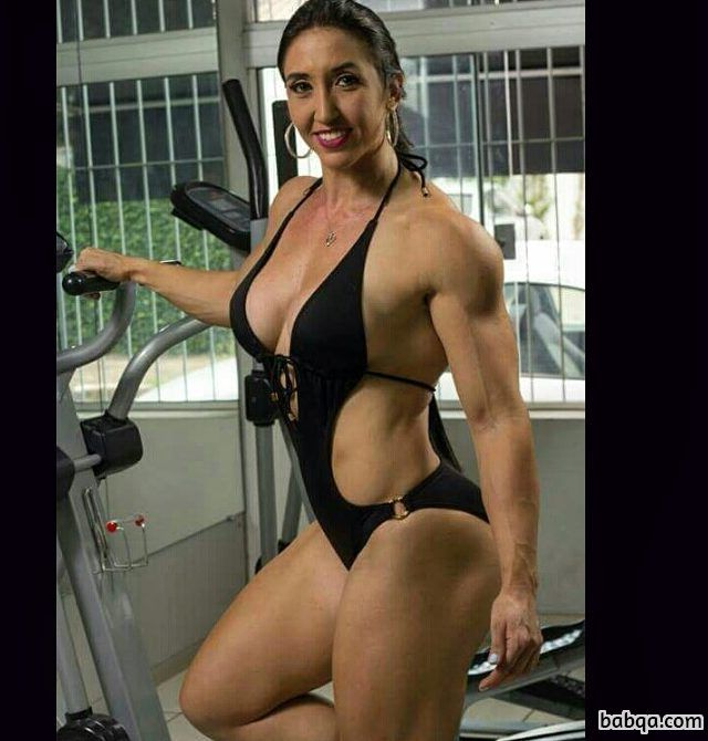 hot woman with muscular body and toned bottom repost from g+