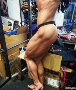 spicy girl with strong body and toned bottom picture from g+