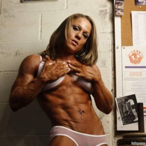 spicy woman with muscular body and muscle bottom repost from reddit