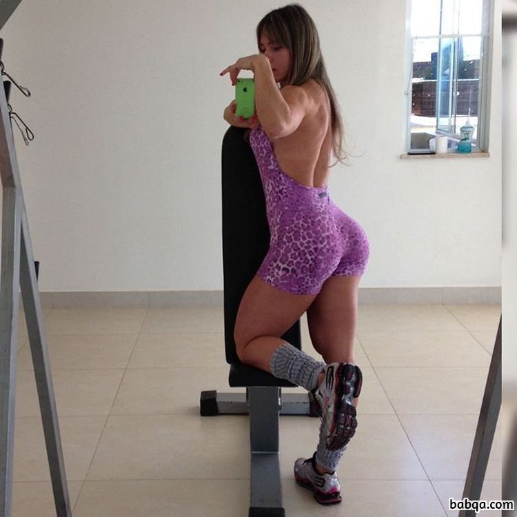 hottest woman with fitness body and muscle arms image from facebook