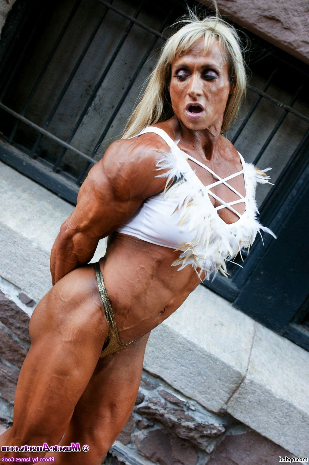 hot babe with strong body and muscle bottom image from linkedin