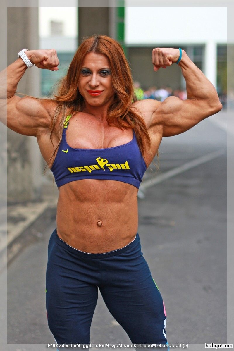 spicy female with muscle body and toned ass post from linkedin