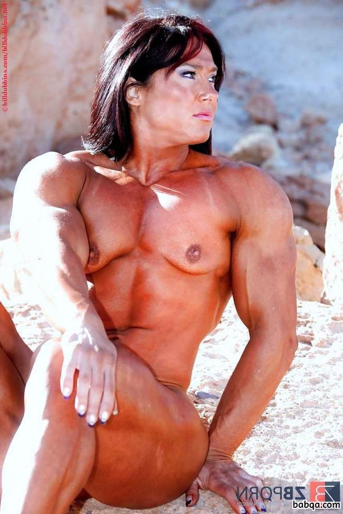 sexy female with strong body and muscle biceps image from tumblr