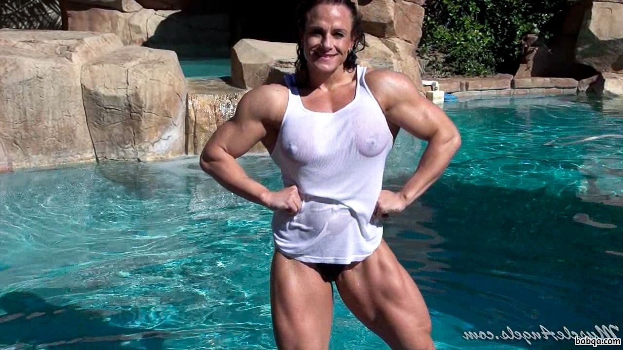 cute lady with strong body and toned legs photo from g+