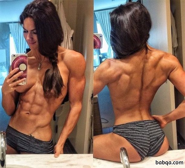 spicy female with muscular body and toned ass repost from facebook