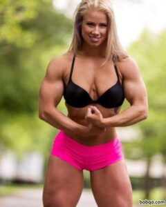 cute female with strong body and toned legs picture from reddit