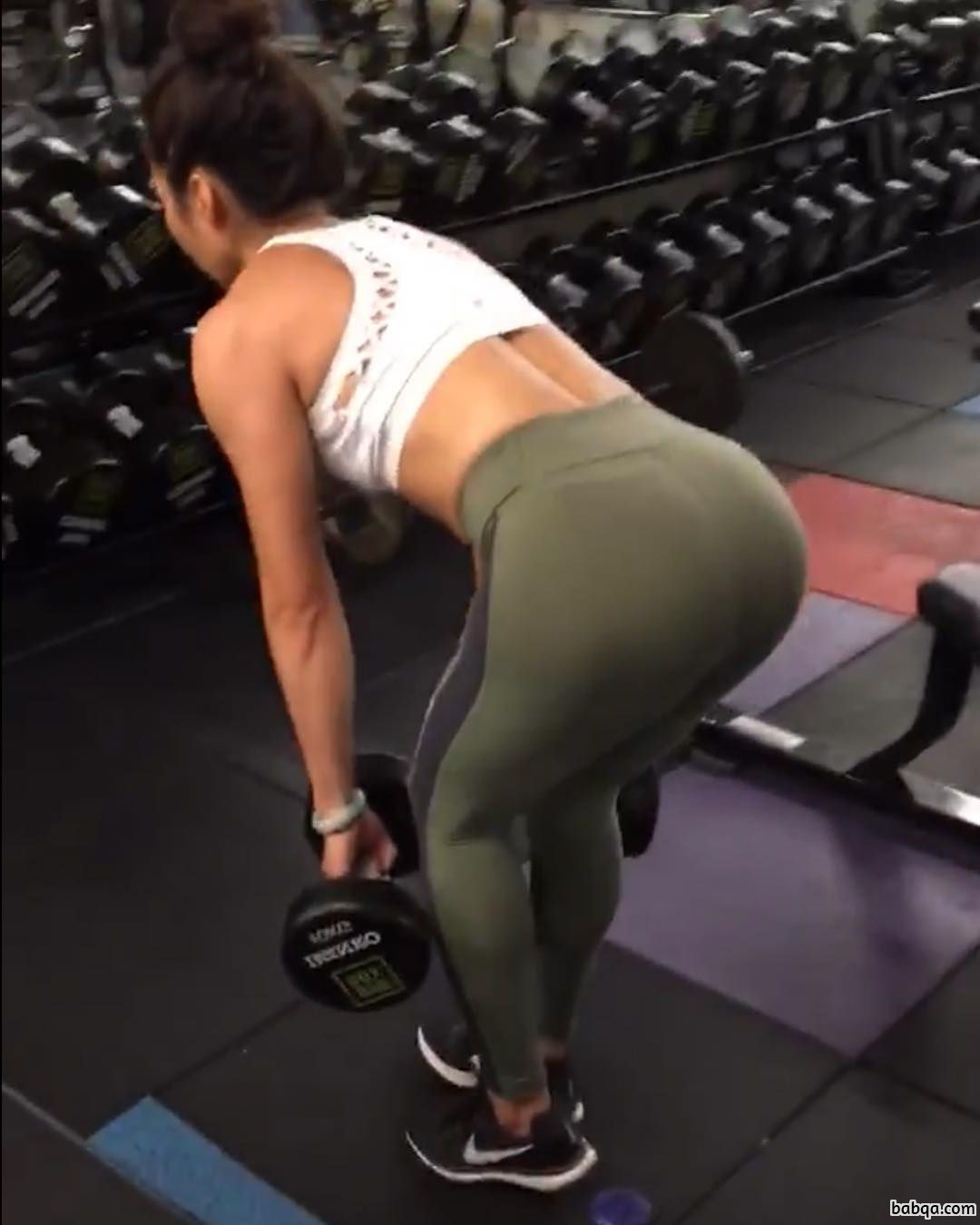 perfect babe with strong body and muscle bottom repost from flickr