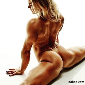 perfect female with muscular body and muscle legs photo from linkedin