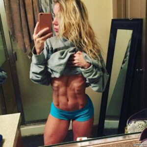 sexy chick with muscle body and muscle ass pic from linkedin