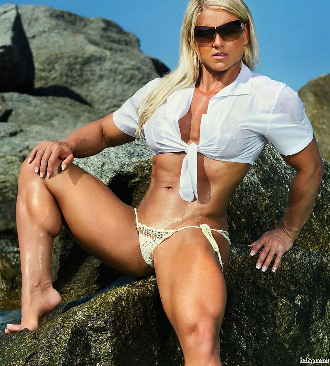 perfect girl with fitness body and muscle legs image from tumblr