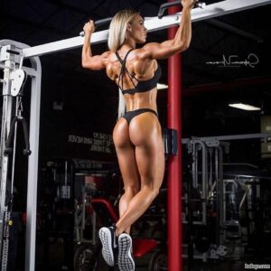 hottest female with muscular body and muscle legs repost from facebook